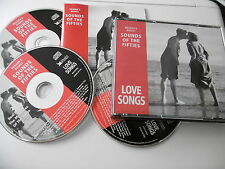 READER'S DIGEST SOUNDS OF THE FIFTIES LOVE SONGS 3 CD 58 TRKS DAY RAY COGAN COMO