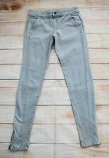 Topshop Mid Rise Regular Size Faded Jeans for Women