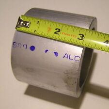 "Alcoa Aluminum Tube 6061-T6511 4"" OD x .50"" Wall x 3.05"" Length Lot of 2"