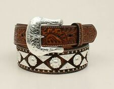 ARIAT CALF HAIR COVERED LEATHER - ACCESSORIES BELT MEN - A1023808