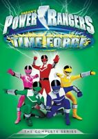 Power Rangers: Time Force: The Complete Series (5 Disc) DVD NEW