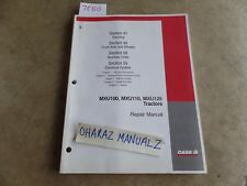 CASE MXU100/110/115 Steering Electrical Front Axle Auxilary Repair Manual