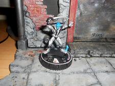 CUSTOM Heroclix NIGHTCRAWLER X-Men Figure MINIATURE Silver Black