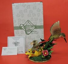 Special Ltd Ed Charming Tails Hang'In Tight To Summer Fun Figurine 98/317-Gld