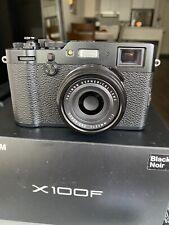 New listing Fujifilm X100F - Black - Excellent Condition