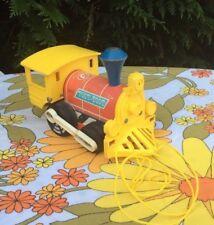 ♦ Ancien Train Wagon Fisher Price En Bois Vintage Réf: 643 Année 1964