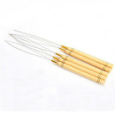 Micro Ring Hair Extension Bead Needle Loop Needle Threader Hook Pulling Tools