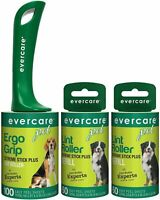 Evercare Pet Extreme Stick 100 Sheet Lint Rollerwith TwoExtra Roller Refills