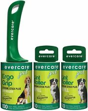 Evercare Pet Extreme Stick 100 Sheet Lint Roller?with Two?Extra Roller Refills