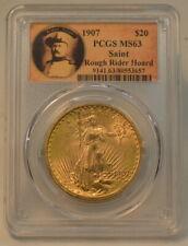 1907 PCGS MS63 Gold St, Gaudens $20 Double Eagle