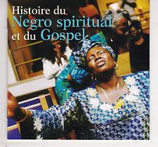 2 CD 34T DANS GROS BOITIER (FAT BOX) HISTOIRE DU NEGRO SPIRITUAL ET DU GOSPEL