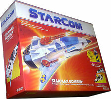 StarCom Starmax Bomber Vintage 1986 Collectible New! MISB AFA IT!!