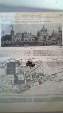 1910 78 Brand Brüssel Weltausstellung