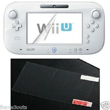 Nintendo Wii U Gamepad Screen Protector LCD Screenguard Protects Dust Scratches