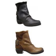 FLY London Low Heel (0.5-1.5 in.) Zip Boots for Women