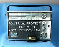 ZENITH  ROYAL 94  INTER-OCEANIC.    A NEW  AC ADAPTER for your Royal 94.