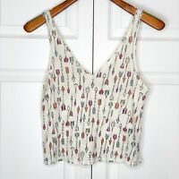 Urban Outfitters Arrow Crop Top Size Small Festival EUC