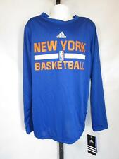 New- New York Knicks Youth Small S (8) Adidas Athletic Climalite Shirt