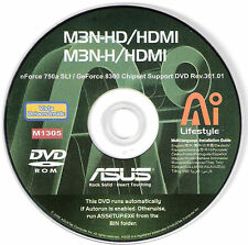 ASUS M3N-HD AND M3N-H HDMI Motherboard Drivers Installation Disk M1305