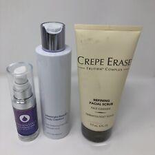 Crepe Erase Refining Facial Scrub Face Cleanser 6 oz Sealed