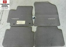 NEW OEM TOYOTA COROLLA 2010-2013 BROWN (BISQUE)CARPET MATS