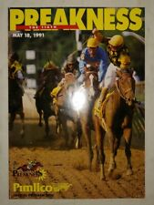 1991 The 116th PREAKNESS Stakes Program vintage horse racing memorabilia
