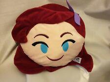 Disney Emoji Ariel Little Mermaid Emoji Pillow
