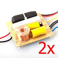 (2) 3-WAY Speaker Crossover Network 2000 Watts, Model: EMB CX-10, Home DJ CAR