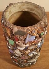 Vintage Mosaic Tile Native American Indian Pottery Vase