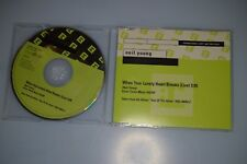 Neil Young ‎– When Your Lonely Heart Breaks (Live) CD-SINGLE PROMO