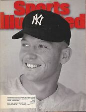 AUGUST 21, 1985 SPORTS ILLUSTRATED WITH MICKEY MANTLE OF THE NEW YORK YANKEES