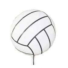 Large Volleyball Foil Balloon Sport Party Fun 44cm Round Grand Final Netball