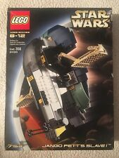 Lego Star Wars 7153 Jango Fett's Slave 1 Complete Minifigures Instructions Box