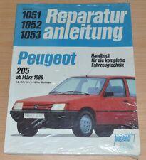 Peugeot 205 ab März 1988 1,0 1,1  1,3 1,4 Motor Getrieb Reparaturanleitung B1051