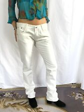 FORNARINA Boyfriend Jeans - UK 14 - WHITE