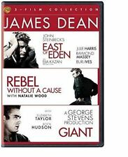 James Dean 3-Film Collection Giant East Of Eden Rebel Without A Cause  R4 DVD