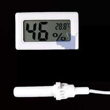 Mini Thermomètre hygromètre avec sonde humidité Ecran digital LCD pour Terrarium