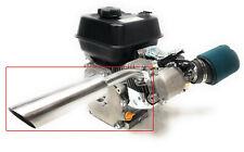 Header Exhaust Pipe for: Mud Motor Predator 212cc, Honda GX 160, Honda GX 200