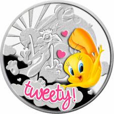 Niue 2013 1$ Tweety Cartoon Characters Proof Silver Coin