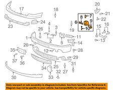 GM OEM Front Bumper-Mount Bracket 15791866