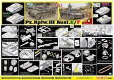 Dragon 1:35 6944: Panzer Pz.Kpfw.III Ausf.E/F - (2 in 1)