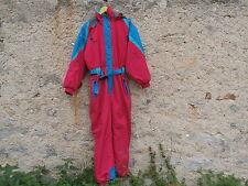 Combinaison Ski rouge/vert DECATHLON Taille 42 Excellent état...peu portée