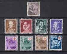 ESPAGNE AÑO 1950 MNH NUEVO SIN FIJASELLOS ESPAÑA- EDIFIL 1070/87(SIN 1075/1083B)