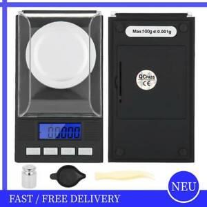 100g*0.001 Digital Schmuckwaage Pocket Scales Milligramm Schmuckwaage Feinwaage