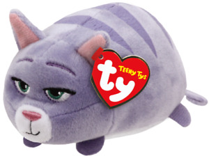"""Ty Teeny Tys 4"""" CHLOE (The Secret Life of Pets) Cat Stackable Plush Animal MWMTs"""