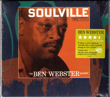 THE BEN WEBSTER QUINTER: SOULVILLE Late Date Lover, Come Back to Me VERVE CD NEU