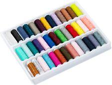 39P Bobines de Fils en Polyester pour Couture Manuelle à Coudre Multicolore ROSE
