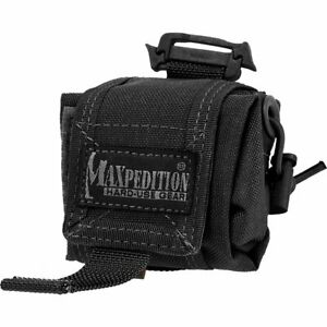 Maxpedition Mini Rollypoly Folding Dump Pouch (Black)