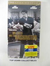 Mr. Smith Goes To Washington Jean Arthur, James Stewart Vhs Movie New