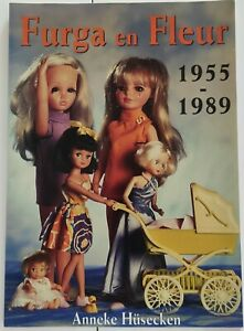 Livre Poupées FURGA En FLEUR Poppen Dolls Book Anneke Hüsecken